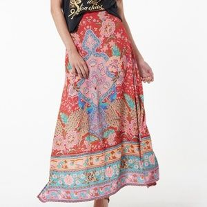Spell & The Gypsy Collective Lotus Maxi Skirt